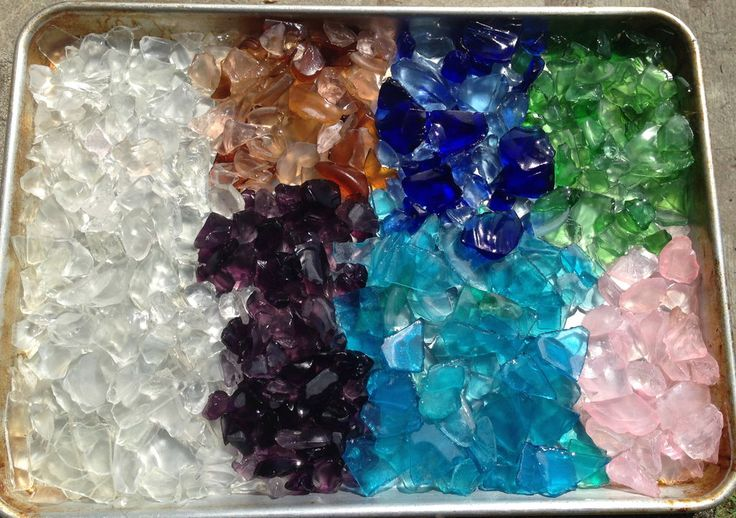 Tutorial on cleaning sea glass (and other craft supplies/jewelry) with denture cleaner tablets