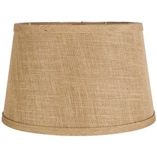 Natural Beige Burlap Lamp Shade
