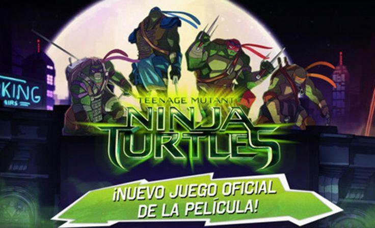 El Juego Oficial de las Tortugas Ninja para iPhone y iPad Aterriza en la App Store
