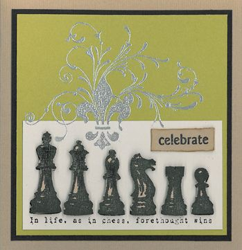 Stamp-it Australia: 4204F In Life as in Chess, 4207F Fleur Swirl, siset030 Celebrate - Card by Susan