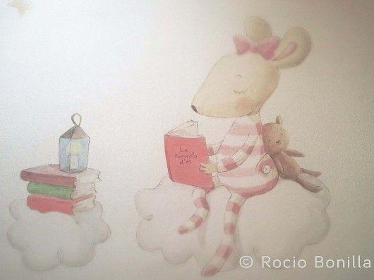 M s de 25 ideas incre bles sobre dibujos para la pared en - Dibujos para habitaciones de bebes ...