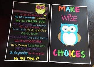 How to make cheap classroom posters from home and where to print them.  Simply the Middle: Classroom Posters on the Cheap...and a Discount Code!