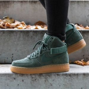 san francisco b9306 f8c7c Nike-Air-Force-1-High-039-07-LV8-Suede -Vintage-Green-Gum-Men-039-s-Shoe-Boots-UK-9