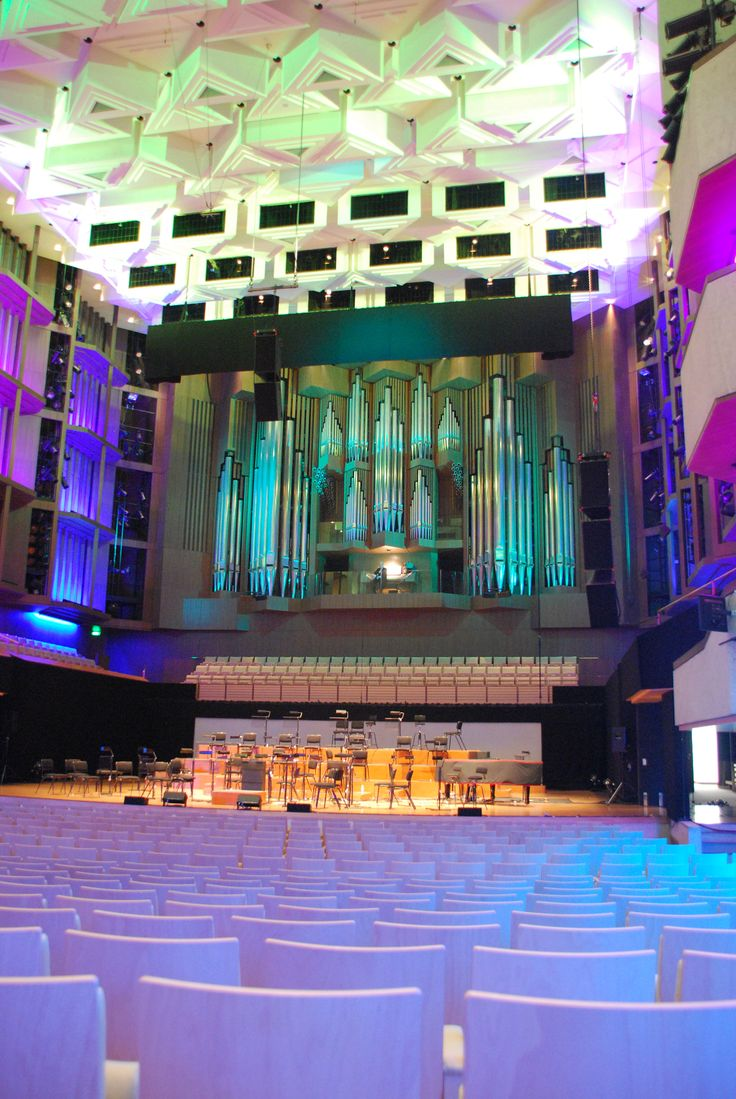 Queensland Performing Arts Centre: A landmark building of concrete and glass on the southern bank of the Brisbane River, the Queensland Performing Arts Centre (QPAC) was designed by architect Robin Gibson and constructed over six years #boh2014 #unlockbrisbane #brisbane #discoverbrisbane