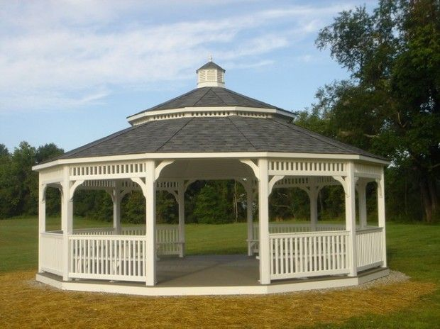 Photo courtesy Catherine Dickson Hofman Library Association BLAIRSTOWN -- The Catherine Dickson Hofman Library Association, a non-profit organization, recently erected a large gazebo in the behind the library on Lambert Road. The gazebo will be dedicated to the library and...