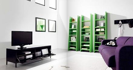Meuble métallique Detroit noir - Mobilier design | www.ma-maison-deco.com