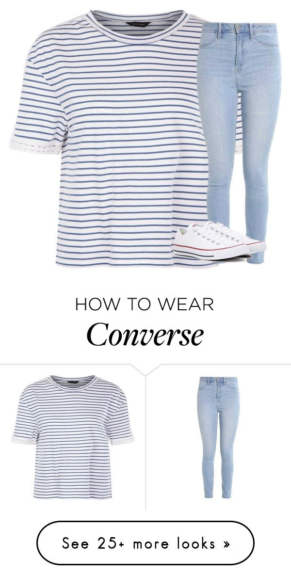 """Untitled #2680"" by laurenatria11 on Polyvore featuring Hollister Co. and Converse"