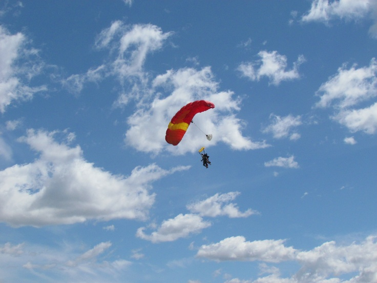 skydiving in south island!