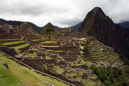 The popular Inca Trail hike, which culminates at the spectacular Machu Picchu Incan ruins, is a 30-mile hike through the Andes Mountains