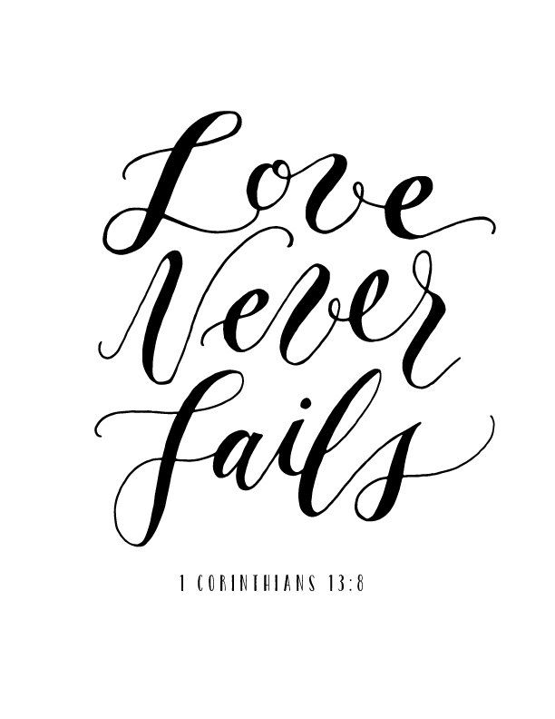 Ordinaire Love Never Fails