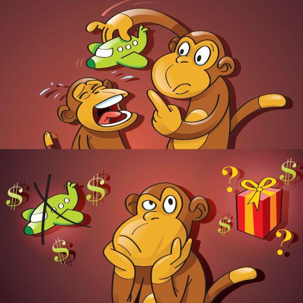 Portfolio Illustration - The Netmen Corp #logo #logomark #brand #branding #design #corporate #identity #business #inspiration #illustrator #adobe #artisticdesign #visual #artist #greatillustration #artisticillustration #illustration #vectorstyle #vector #vectorillustration #monkeyillustration #monkey #funnymonkeyillustration
