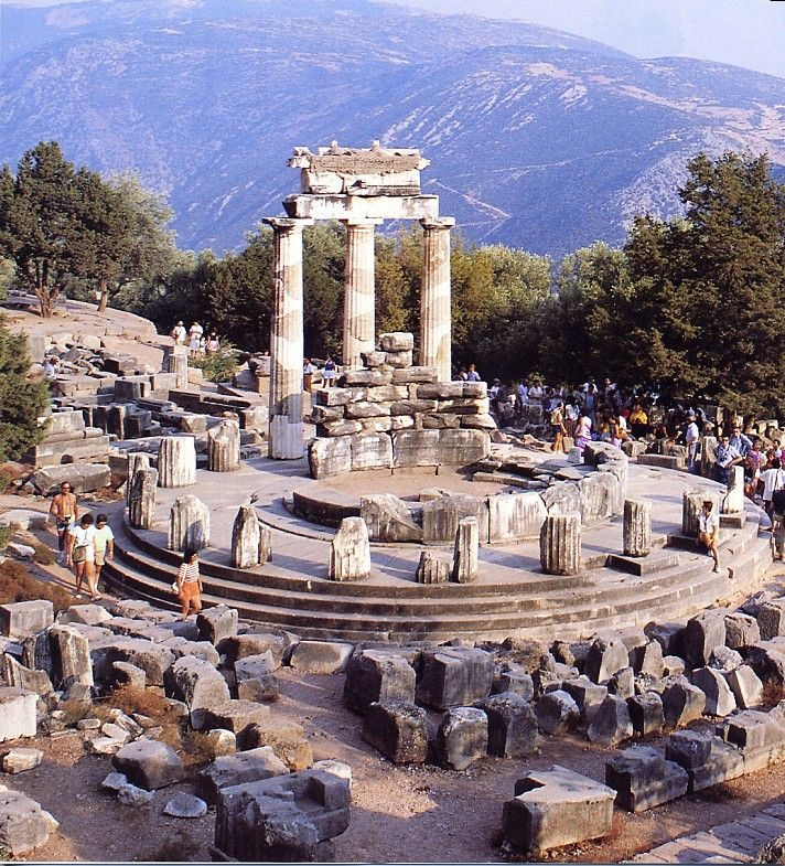 Greece - The Oracle at Delphi was the most important oracle in the classical Greek world, and a major site for the worship of the god Apollo. People consulted the sibyl or priestess of the oracle on everything from important matters of public policy to personal affairs. It was also there that every four years, from the 6th century BC, athletes from all over the Greek world competed in the Pythian Games, one of the precursors of the Olympic Games.