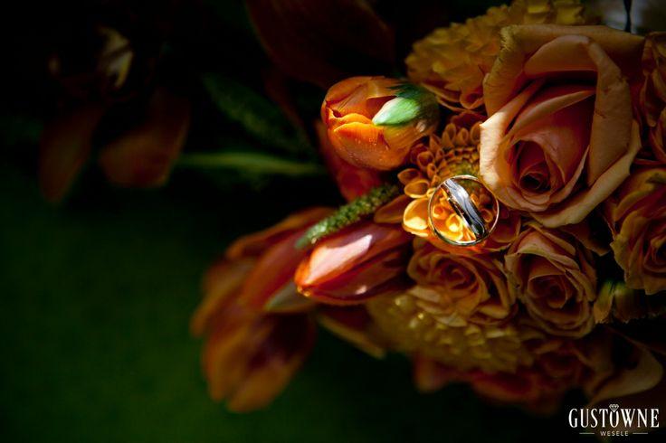Pomarańczowy bukiet Panny Młodej / Orange Bride's boquet