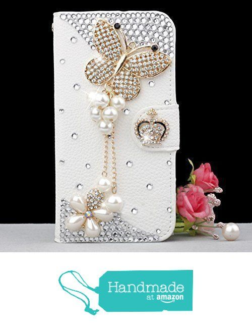 Galaxy S6 Case,Gorgeous Butterfly Bling Crystal White PU Wallet Leather Case for Samsung Galaxy S6 Case,[Does Not Compatible with Galaxy S6 Edge&Galaxy S6 Edge Plus Edition] from wishxin https://www.amazon.com/dp/B01N4LHYU9/ref=hnd_sw_r_pi_awdo_KwNNybV8RVP7V #handmadeatamazon
