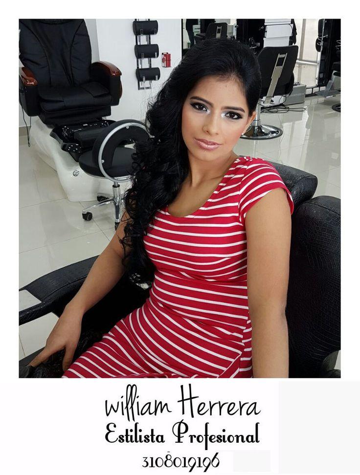 ¡Un look con ondas es tan versátil que lo podrás utilizar según tu maquillaje para un evento de día casual y un evento de noche elegante!  ¡Ven y llénate de belleza y glamour con William Herrera, Estilista Profesional! #MakeUp #Maquillaje #Belleza #MAC #CaliCo #Cali #Colombia #CaliEsCali #Hermosas #Recogidos #Pro #Estilista #Profesional #Natural #Mujeres #Look #Style