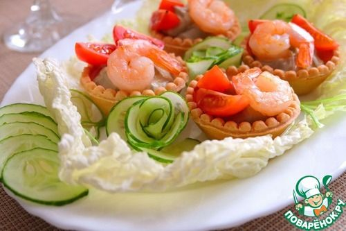 """Закуска из авокадо """"Праздничная"""" - кулинарный рецепт"""