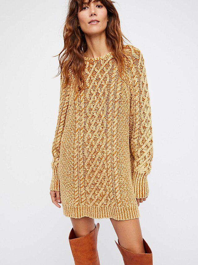 On A Boat Sweater Dress from Free People!
