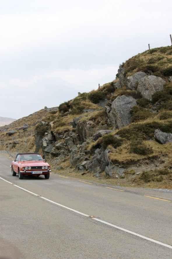 Classic Cars on Irish Roads