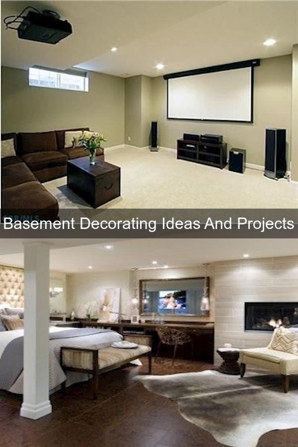 Unfinished Basement Ideas Furnished Basement Basement Renovations Ottawa Interior Design Great Basements Basement In 2020 Basement Decor Basement Renovations