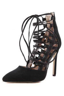 pantofi cu siret; pantofi stiletto; pantofi decupati; pantofi decupati