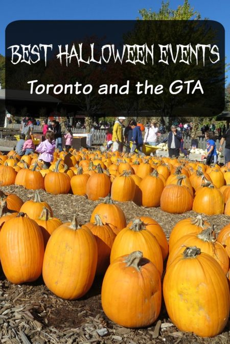 Best Halloween Events - Toronto and the GTA - Gone with the Family - Fun, family-friendly Halloween-themed events in Toronto and the Greater Toronto Area during the month of October.