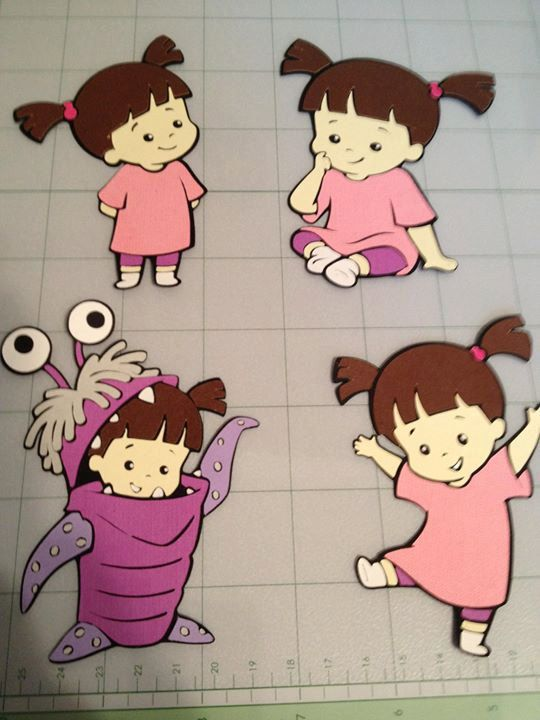 Boo from Monsters Inc by LittleBigA on Etsy, $1.50