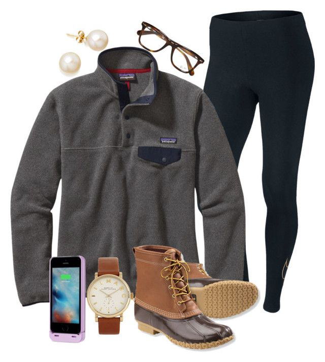 """Contest in the d! "" by madelyn-abigail ❤ liked on Polyvore featuring NIKE, Patagonia, L.L.Bean, Marc by Marc Jacobs, Ray-Ban, Boostcase and madelynscontest1"