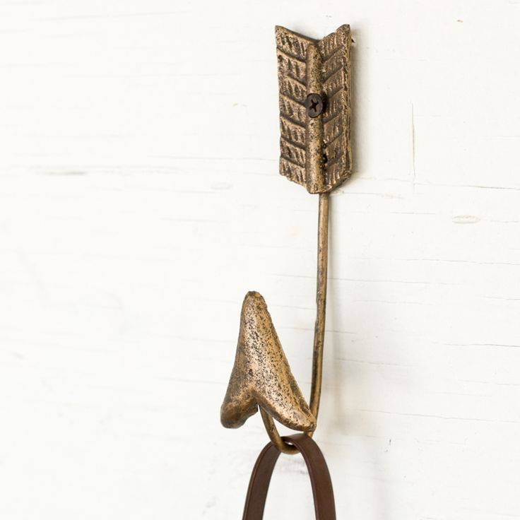 Wrought Iron Hooks - Wrought Iron Wall Decor - Iron Accents