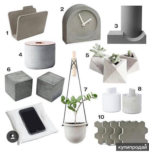 бетон аксессуары