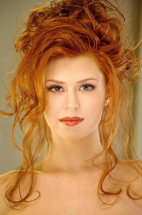 Heather Marie Hoke  Beautiful Red Hair, Red Hair Woman -5479
