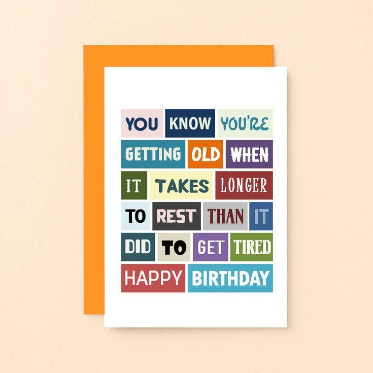 Funny Birthday Card   Birthday Humour   Cheeky   For