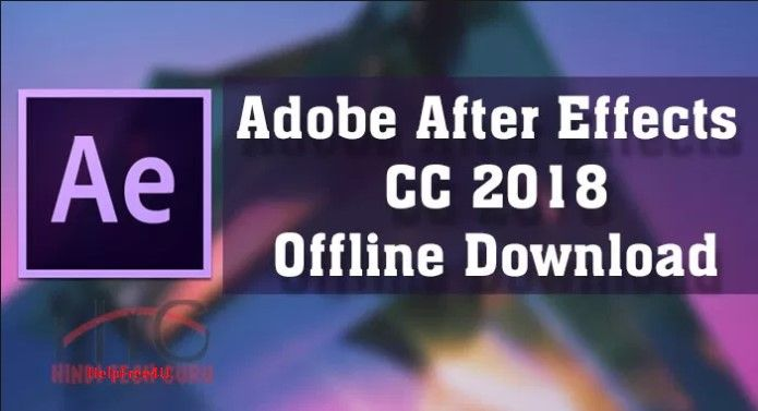 Free Download Adobe After Effects Cc 2018 Pre Activated After
