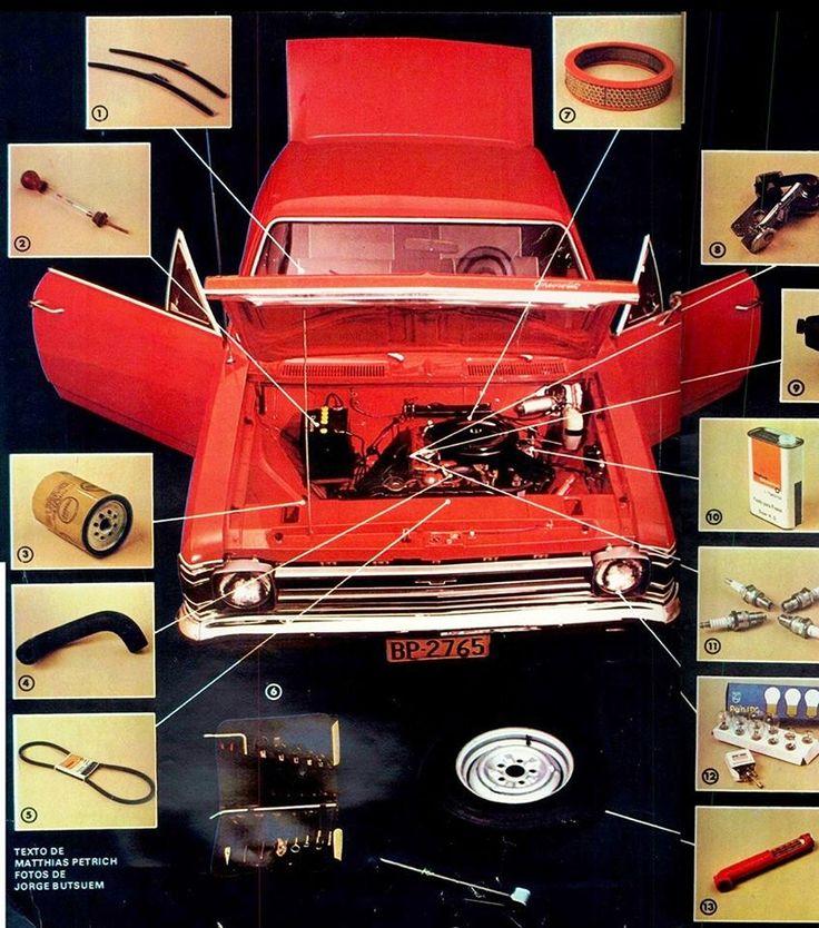1972 Chevrolet Opala - Brasil