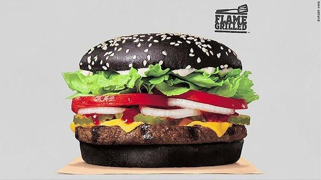 People Are Freaking Out Because Burger King's Black-Bunned Whopper Turned Their Poop Green