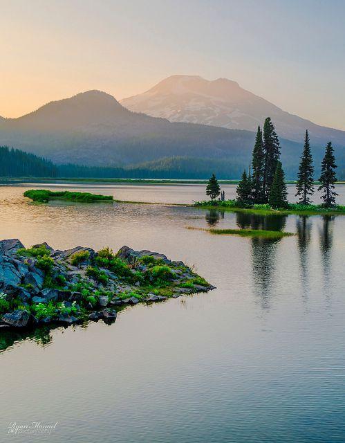 Sparks Lake, Oregon.