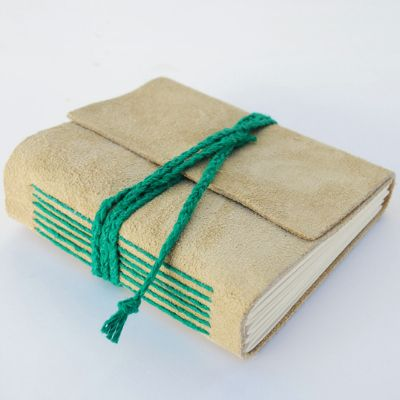DIY Tutorial ~  Bookbinding Fundamentals: Long-Stitch Leather Journal