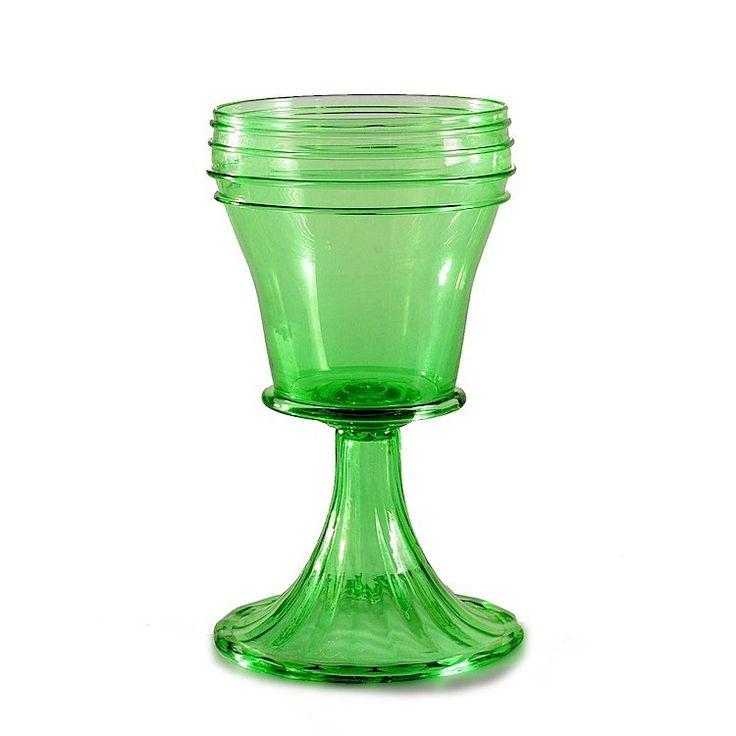 BALAN green medieval goblet - Original Murano Glass GAME OF THRONES goblet