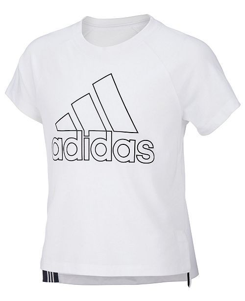 868f7ad9237 adidas Big Girls Winners Logo T-Shirt | Little Girls Clothes ...