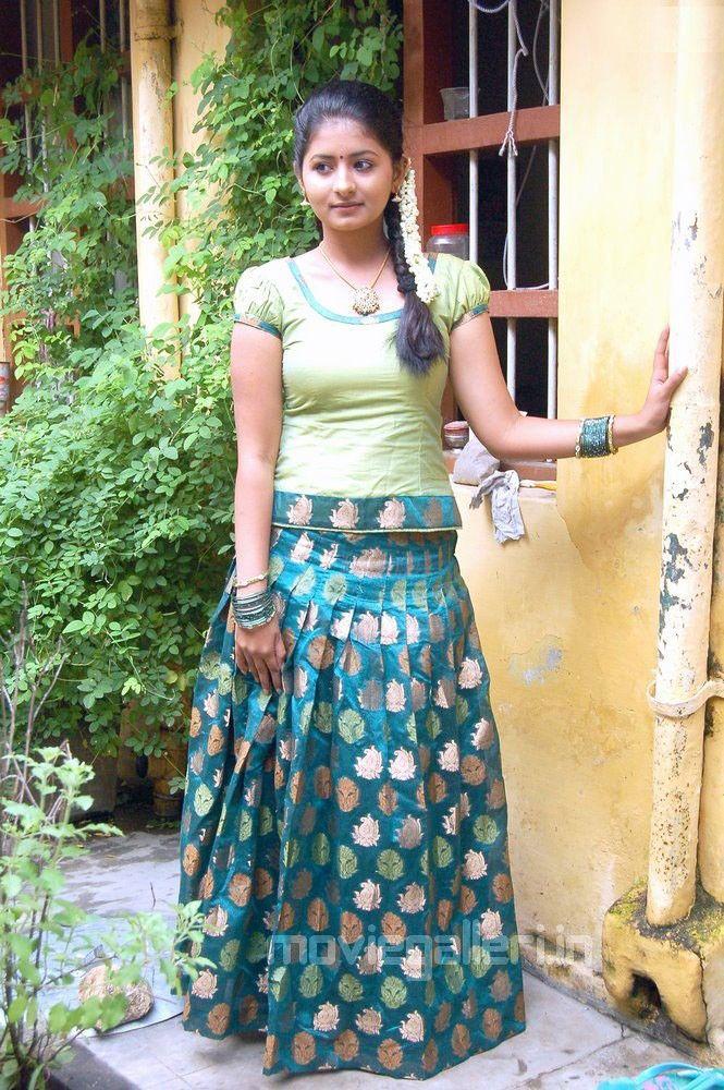 Reshmi Menon In Pavadai Chattai