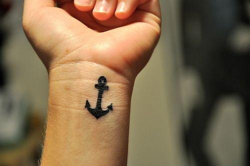@claire DeGrazia: Tattoo Ideas, Wristtattoo, Sinks, Nautical Tattoo, A Tattoo, Tattoo Design, Small Anchors Tattoo, Anchors Wrist Tattoo, Small Wrist Tattoo