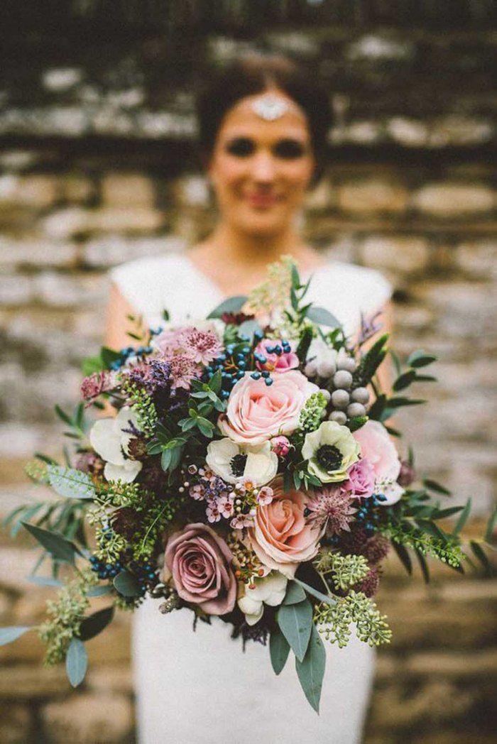 Repérés sur Pinterest: les 30 bouquets de mariée les plus jolis - Les bouquets XXL sont privilégiés par les mariées. © Pinterest Fabmood