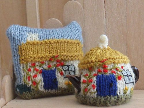 1434 Best Miniature Knitting Images On Pinterest Knitting Patterns
