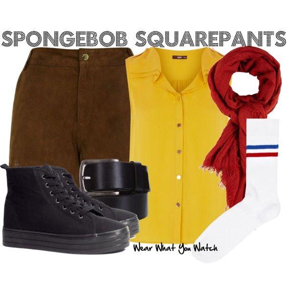 Inspired by Tom Kenny (voice) as cartoon character Spongebob Squarepants.