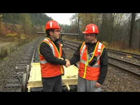 Rick Mercer and the Last Spike