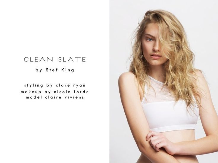 claire stef king1 New Face Claire Poses for Stef King