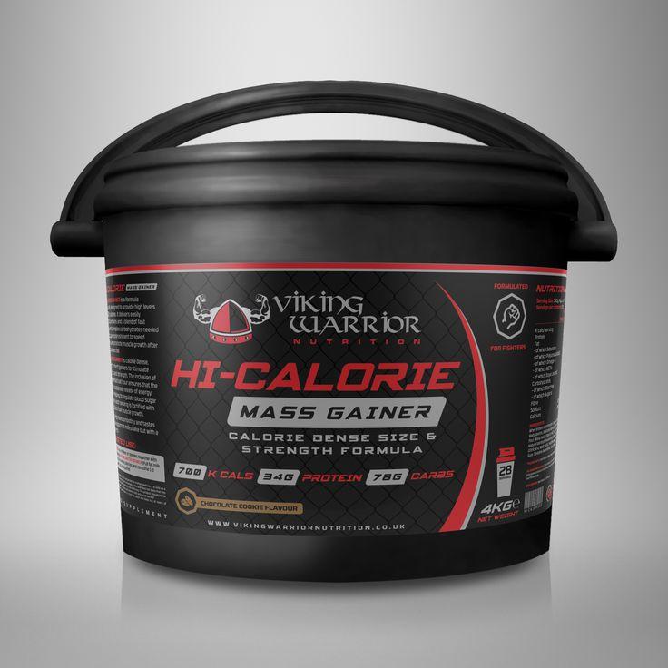 Hi Cal Mass Gainer 4KG - Viking Warrior Nutrition