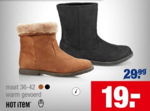 Alleen 6/11 korting op deze leuke én warme schoenen bij de Schoenenreus. Bekijk de folder op Reclamefolder.nl.