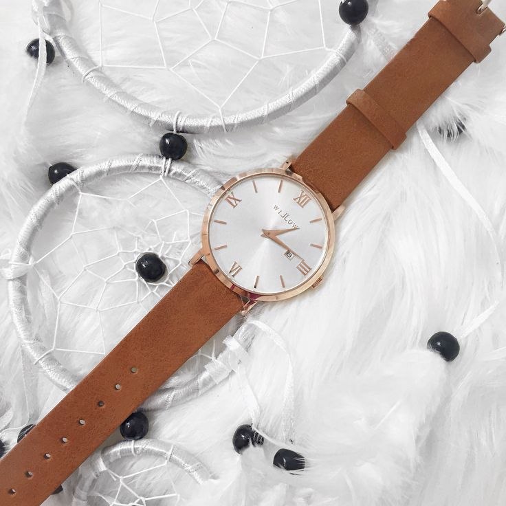 Dream catcher & time keeper. This combinations is VEGAN friendly!