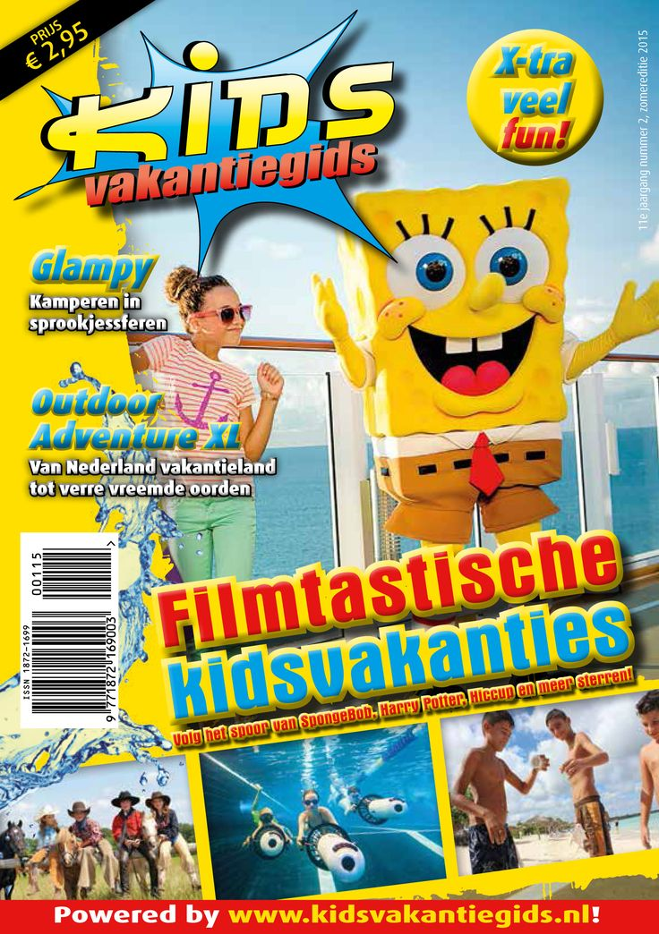 Kids Vakantiegids magazine