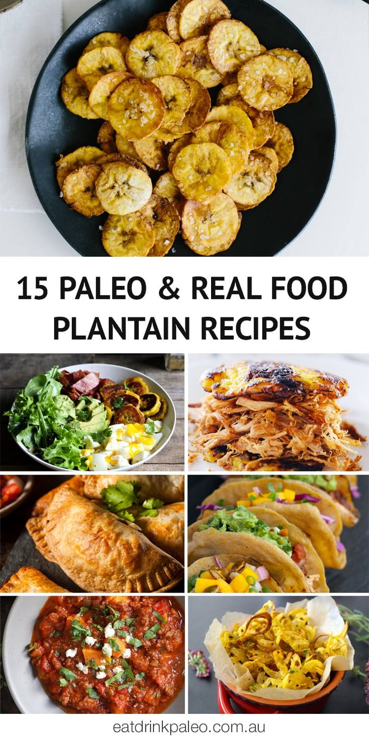 What Are Plantains + 15 Paleo Plantain Recipes